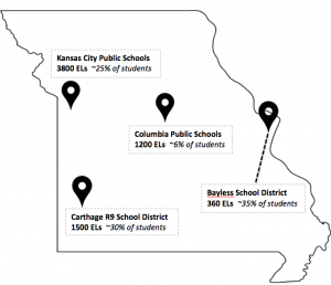 SEE-TEL local education agency location map